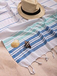 Saçaklı Plaj Havlusu