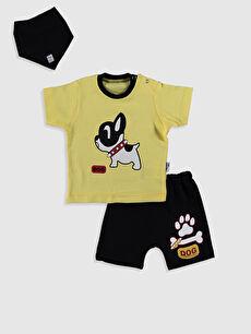 By Leyal For Kids Yenidoğan Pamuklu Takım 3'lü