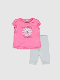 Kız Bebek Tişört Ve Tayt