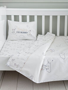 LCW GREEN Organic Double Sided Patterned Baby Duvet Cover Set