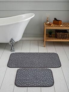 Desenli Well Soft Banyo Paspası 2'li