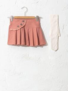 Basic Skirt and Tights 2-piece
