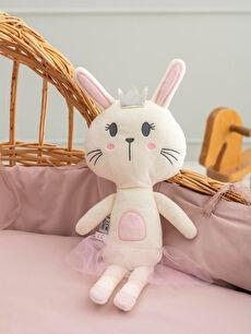 Bebek Peluş Tavşan Dolgulu Kırlent