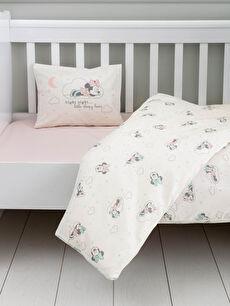 Minnie Mouse Lisanslı Dokuma Kız Bebek Nevresim Takımı