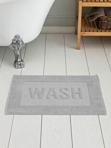 Slogan Detaylı Banyo Paspası