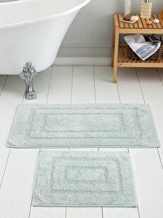 2-pack Figured Bath Mat