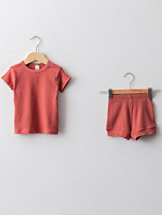 кафяв Комплект пижама
