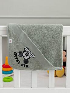 Kız Bebek Mickey Mouse Lisanslı Banyo Havlusu