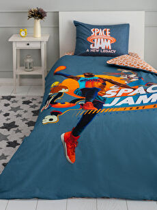 Space Jam Licensed Woven Boys' Duvet Cover Set