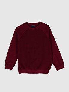Long Sleeve Boy Slim Knitwear Sweater