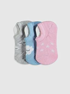 Kız Bebek Patik Çorap 3'lü
