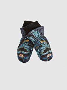 Boy Batman Licensed Fingerless Gloves