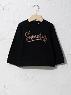 Baby Girl's Printed Sweatshirt