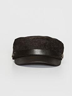 Süet Denizci Şapka