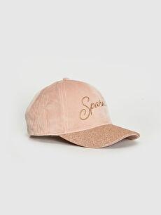 Kız Çocuk Nakışlı Şapka