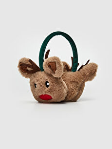 New Year Themed Plush Earmuff