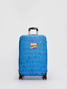 Marvel Baskılı Orta Boy Valiz Kılıfı