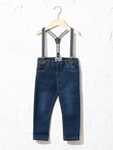 Baby Boy's Jeans and Suspenders