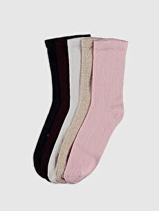 Kız Çocuk Soket Çorap 5'li