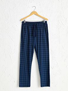 Standart Kalıp Desenli Pijama Alt