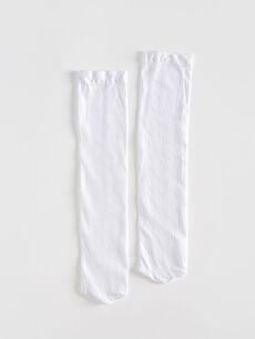 Kız Çocuk Diz Altı Çorap