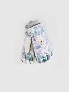 Girl Elsa Licensed Gloves