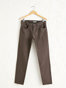 Slim Fit Gabardin Pantolon