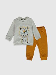 Erkek Bebek Sweatshirt ve Pantolon