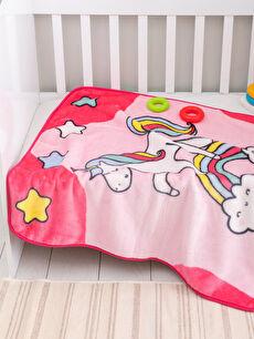 Baskılı Bebek Battaniye