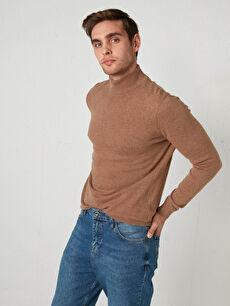 Half Turtleneck Fine Wool Knitwear Sweater
