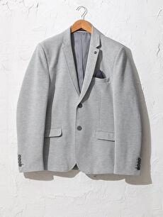 Dar Kalıp Blazer Ceket