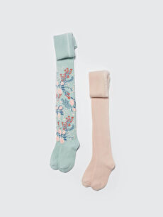 2-pack Girl's Tights