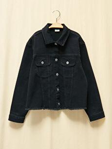 Kız Çocuk Doğa Dostu Jean Ceket