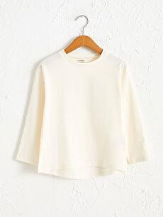 Kız Çocuk Organik Pamuklu Basic Tişört