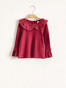 Kız Bebek Pamuklu Tişört