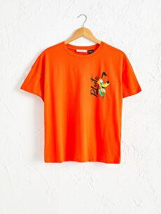 Goofy Baskılı Pamuklu Tişört
