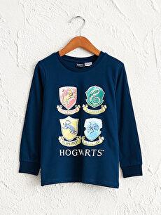 Erkek Çocuk Hogwarts Baskılı Tişört