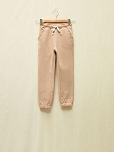 LCW GREEN Girl's Organic Cotton Sweatpants