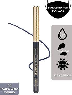 L'Oréal Paris Le Liner Signature Göz Kalemi 08 Taupe Grey Tweed
