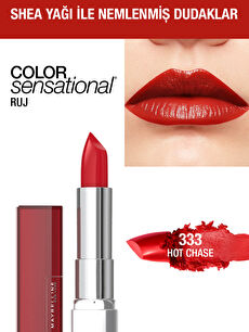 Maybelline New York Color Sensational Ruj - 333 Hot Chase - Kırmızı