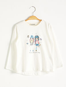 Girl's Printed T-Shirt