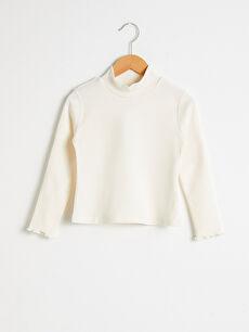 Girl's Cotton Basic T-Shirt