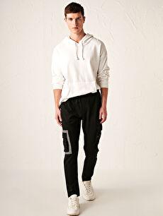 Slim Fit Cargo Pocket Sweatpants