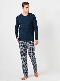 Standart Kalıp Erkek Pijama Takımı