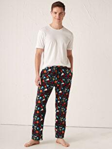 Standart Kalıp Polar Pijama Altı