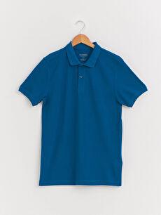 Polo Yaka Pamuklu Tişört