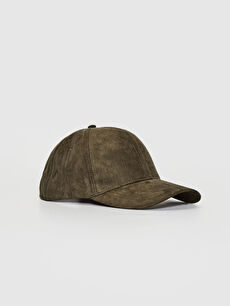 Suede Men's Cap