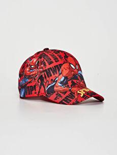 Boy Spıderman Printed Hat