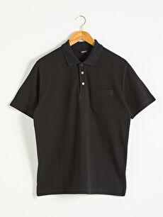 Polo Yaka Kısa Kollu Basic Pike Tişört