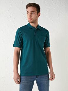 Polo Yaka Kısa Kollu Basic Pike Erkek Tişört